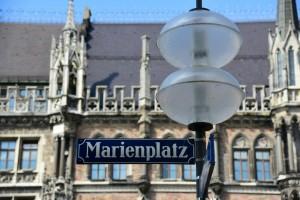 Startpunkt München Marienplatz